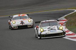 #91 Porsche Team Manthey Porsche 911 RSR: Richard Lietz, Jörg Bergmeister, Nick Tandy