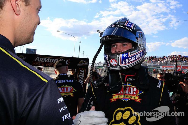 Pole position Shane van Gisbergen, Tekno Team VIP Holden