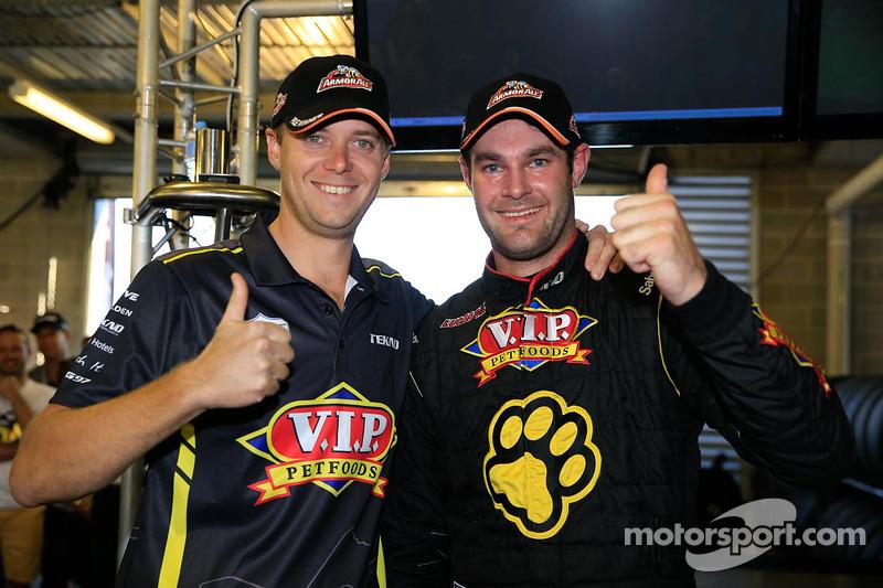 Pole position Shane van Gisbergen et Jonathon Webb, Tekno Team VIP Holden