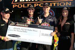 Polesitters Shane van Gisbergen and Jonathon Webb, Tekno Team VIP Holden