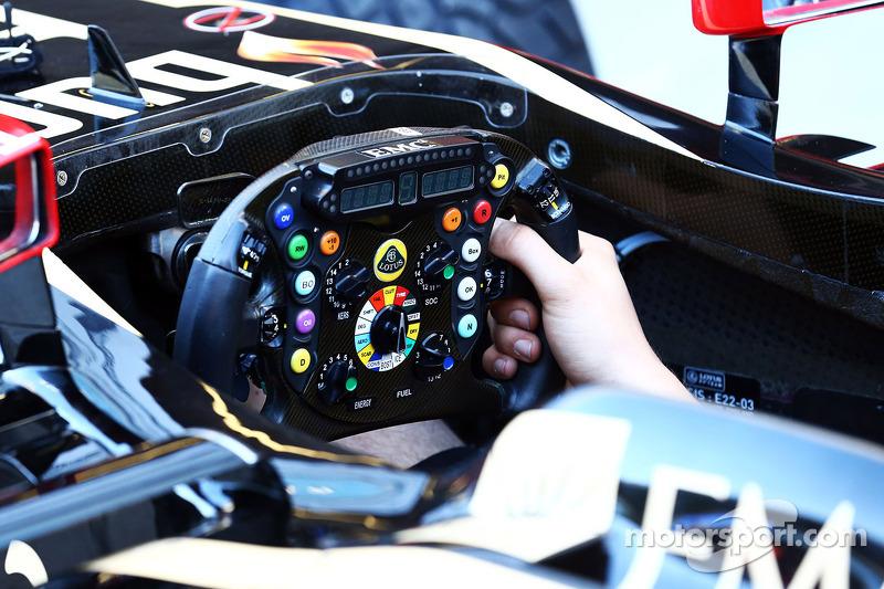 路特斯 F1 E21 方向盘
