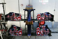 Scuderia Toro Rosso STR9, ali anteriori