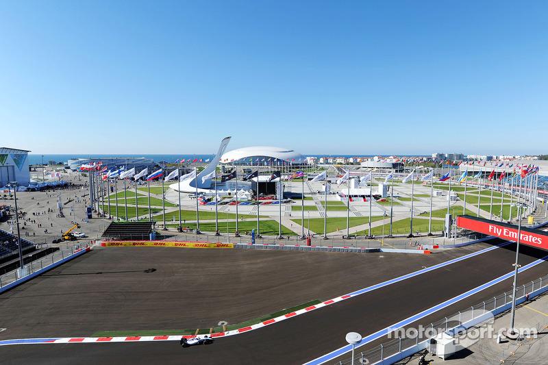 Un circuit... olympique