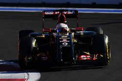 Romain Grosjean su Lotus E22