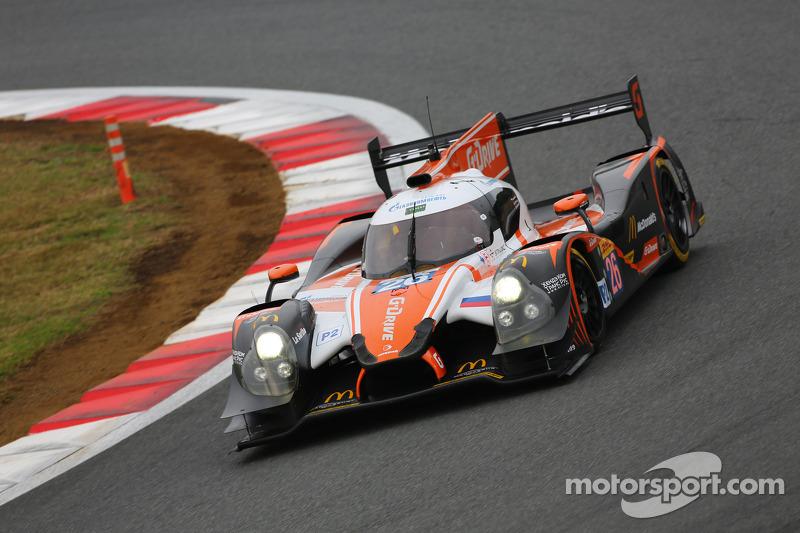 #26 G-Drive Racing Ligier JS P2 - Nissan: Roman Rusinov, Olivier Pla, Julien Canal