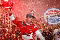Kevin Harvick celebrates