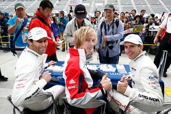 Mark Webber, Brendon Hartley, Timo Bernhard