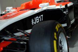 El Marussia F1 Team MR03 de Jules Bianchi, Marussia F1 Team