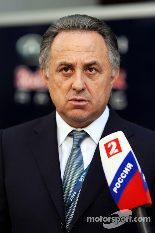 Vitaly Mutko, Ministre des Sports russe
