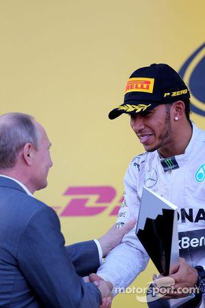 Lewis Hamilton e il Presidente Russo