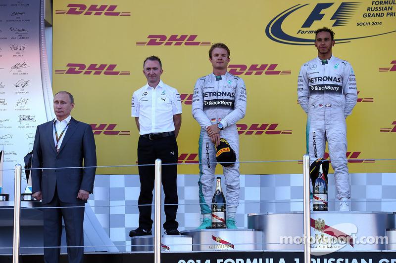 Desde la llegada de la F1 a Rusia en 2014, un Mercedes siempre fue el ganador