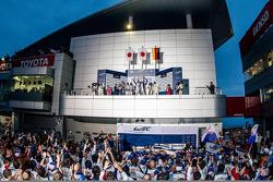 Podium: 1ers Anthony Davidson, Sébastien Buemi, 2èmes Alexander Wurz, Kazuki Nakajima, Stéphane Sarr