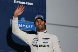 Third place Mark Webber
