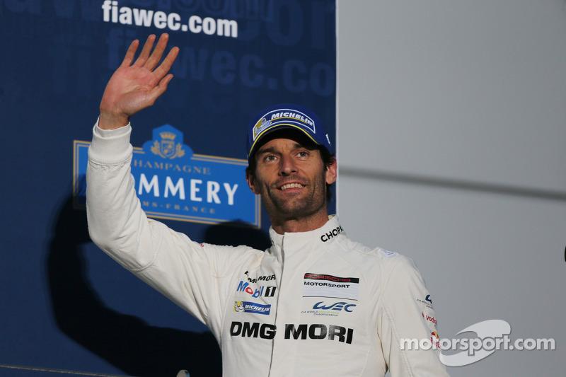 Terzo posto di Mark Webber