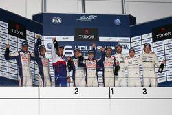 Podium: 1ers Anthony Davidson, Sébastien Buemi, 2èmes Alexander Wurz, Kazuki Nakajima, Stéphane Sarrazin, 3èmes Mark Webber, Brendon Hartley, Timo Bernhard