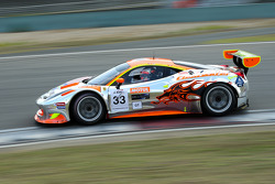 #33 Clearwater Racing 法拉利 458 GT3: 泽圭太, 马特·格里芬