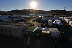 Sunrise over Laguna Seca
