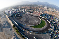 General view of Irwindale Speedway