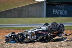 #09 TRG AMR Aston Martin: James Davison gecrasht