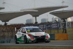 Tiago Monteiro, Honda Civic WTCC, Team Castrol Honda WTCC