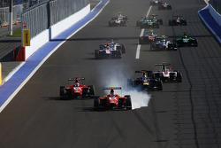 انطلاقة السباق