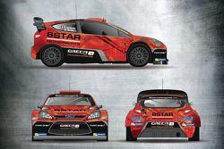 8Star Motorsports ve Oreca-Store.com, Stéphane Sarrazin'in yeni renk düzeni