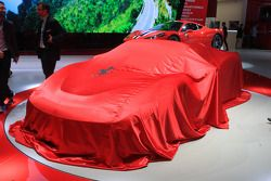 Ferrari vor der Präsentation