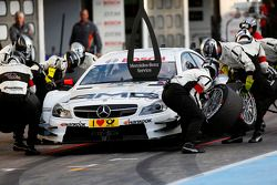 Pitstop, Paul Di Resta, Mercedes AMG DTM-Team HWA DTM Mercedes AMG C-Coupe