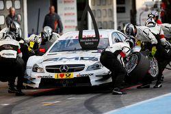 Pitstop, Paul Di Resta, Mercedes AMG DTM-Team HWA DTM Mercedes AMG C-Coupé