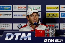 Conférence de presse, Mike Rockenfeller, Audi Sport Team Phoenix Audi RS 5 DTM