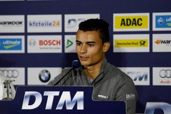 Persconferentie, Pascal Wehrlein, Mercedes AMG DTM-Team HWA DTM Mercedes AMG C-Coupe