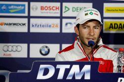 Persconferentie, Mike Rockenfeller, Audi Sport Team Phoenix Audi RS 5 DTM