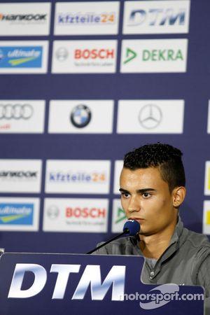 Pressekonferenz, Pascal Wehrlein, Mercedes AMG DTM-Team HWA, DTM Mercedes AMG C-Coupe
