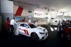 Présentation de la nouvelle Audi TT Cup 2015