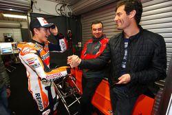 Marc Marquez e Mark Webber