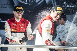 Podium: les vainqueurs Cesar Ramos, Laurens Vanthoor