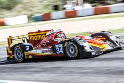 #34 Race Performance ORECA 03 Judd: Michel Frey, Franck Mailleux, David Heinemeier Hansson