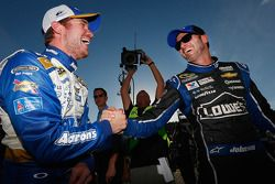 Pole position Brian Vickers, 2ème Jimmie Johnson