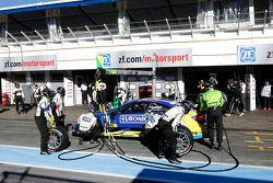 Boxenstopp, Gary Paffett, Mercedes AMG DTM-Team HWA DTM Mercedes AMG C-CoupÈ