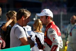 Bernd Schneider and Jamie Green, Audi Sport Team Abt Sportsline Audi RS 5 DTM