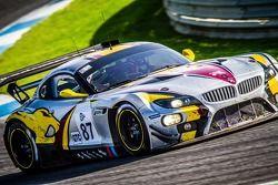 #87 BMW Sport Trophy Marc VDS BMW Z4 GT3: Bas Leinders, Markus Paltalla, Henry Hassid