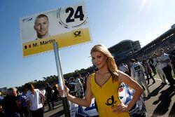 Pitspoes van Maxime Martin, BMW Team RMG BMW M4 DTM