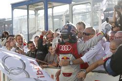 Winner Mattias Ekstrom, Audi Sport Team Abt Sportsline, Audi A5 DTM