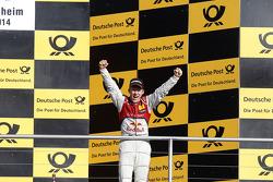 Race Winner Mattias Ekstrom, Audi Sport Team Abt Sportsline, Audi A5 DTM