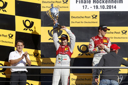 2nd Mike Rockenfeller, Audi Sport Team Phoenix Audi RS 5 DTM