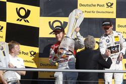Championship Podium, 2nd Mattias Ekstrom, Audi Sport Team Abt Sportsline, Audi A5 DTM