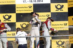 Championship Podium, Champagne for all