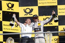 Championship Podium, Stefan Reinhold , BMW Team RMG and Marco Wittmann, BMW Team RMG BMW M4 DTM