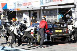 Arrêt au stand : Christian Vietoris, Mercedes AMG DTM-Team HWA DTM Mercedes AMG C-Coupé