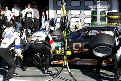 Pitstop, Pascal Wehrlein, Mercedes AMG DTM-Team HWA DTM Mercedes AMG C-Coupe